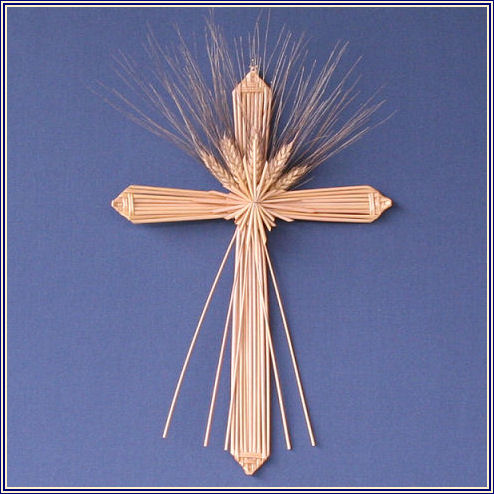 wheat weaving cross